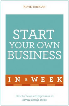 Start Your Own Business in a Week av Kevin Duncan (Heftet)