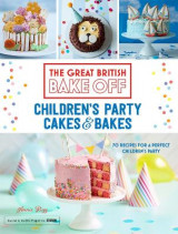 Omslag - Great British Bake Off: Children's Party Cakes & Bakes