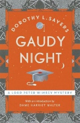 Omslag - Gaudy night - lord peter wimsey book 12