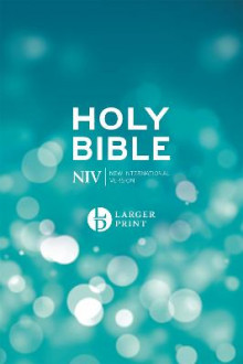 NIV Larger Print Blue Hardback Bible av New International Version (Innbundet)