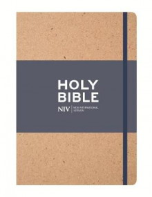 NIV Tan Single-Column Journalling Bible av New International Version (Innbundet)