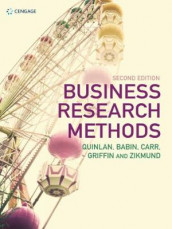 Business Research Methods av Barry Babin, Jon Carr, Mitch Griffin, Christina Quinlan og William Zikmund (Heftet)