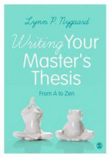 Omslag - Writing Your Master's Thesis