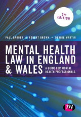 Omslag - Mental Health Law in England and Wales