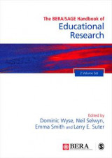 Omslag - The BERA/SAGE Handbook of Educational Research