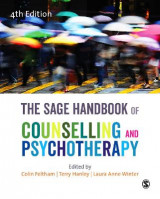 Omslag - The SAGE Handbook of Counselling and Psychotherapy