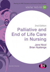 Omslag - Palliative and End of Life Care in Nursing