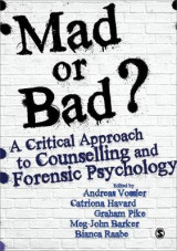 Omslag - Mad or Bad?: A Critical Approach to Counselling and Forensic Psychology