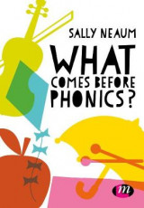 Omslag - What Comes Before Phonics?