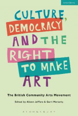 Omslag - Culture, Democracy and the Right to Make Art