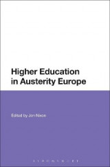 Omslag - Higher Education in Austerity Europe