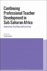 Omslag - Continuing Professional Teacher Development in Sub-Saharan Africa