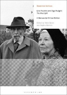 Ezra Pound's and Olga Rudge's The Blue Spill av Ezra Pound og Olga Rudge (Innbundet)