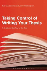 Omslag - Taking Control of Writing Your Thesis