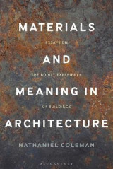 Omslag - Materials and Meaning in Architecture