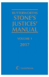 Omslag - Butterworths Stone's Justices' Manual 2017