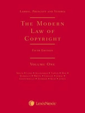 Laddie, Prescott and Vitoria: The Modern Law of Copyright Fifth edition av Daniel Alexander, Iona Berkeley, Quentin Cregan, Isabel Jamal, Lindsay Lane, Charlotte May, Jaani Riordan, Adrian Speck, Michael Tappin og James Whyte (Innbundet)
