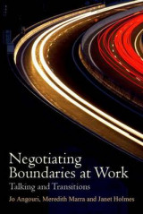 Omslag - Negotiating Boundaries at Work