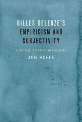 Omslag - Gilles Deleuze's Empiricism and Subjectivity