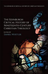 Omslag - The Edinburgh Critical History of Nineteenth-Century Christian Theology