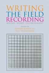 Omslag - Writing the Field Recording