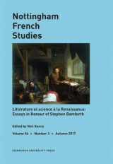 Omslag - Text, Knowledge, and Wonder in Early Modern France: Essays in Honour of Stephen Bamforth