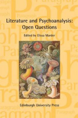 Omslag - Literature and Psychoanalysis: Open Questions