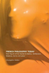 Omslag - French Philosophy Today