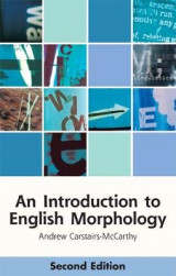 Omslag - An Introduction to English Morphology