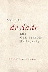 Omslag - Marquis de Sade and Continental Philosophy