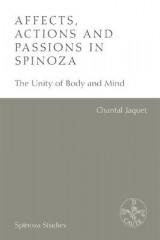 Omslag - Affects, Actions and Passions in Spinoza