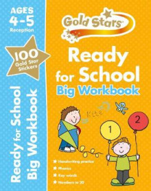 Gold Stars Ready for School Big Workbook Ages 4-5 Reception av David Glover, Penny Glover og Frances Mackay (Heftet)