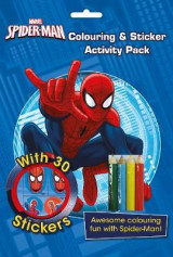 Omslag - Marvel Spider-Man Colouring and Sticker Activity Pack
