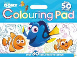 Omslag - Disney Pixar Finding Dory Colouring Floor Pad