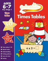 Omslag - Gold Stars Times Tables Ages 6-7 Key Stage 1
