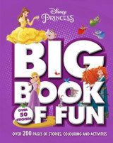 Omslag - Disney Princess Big Book of Fun
