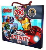 Omslag - Marvel Avengers Super Activity Case