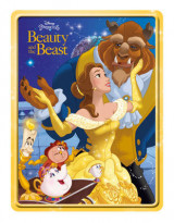 Omslag - Disney Princess Beauty and the Beast Happy Tin