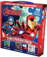 Omslag - Marvel Avengers 2-in-1 Puzzle Pack