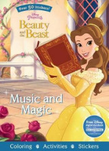 Omslag - Disney Princess Beauty and the Beast Music and Magic