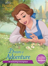 Omslag - Disney Princess Beauty and the Beast Dream of Adventure