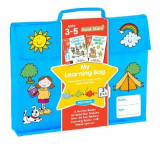 Omslag - Gold Stars My Learning Bag Ages 3-5