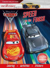 Omslag - Disney Pixar Cars 3: Speed to the Finish