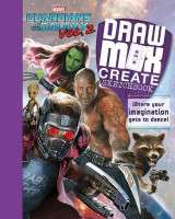 Omslag - Marvel Guardians of the Galaxy Vol. 2 Draw, Mix, Create Sketchbook