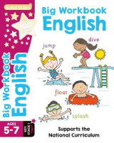 Omslag - Gold Stars Big Workbook English Ages 5-7 Key Stage 1