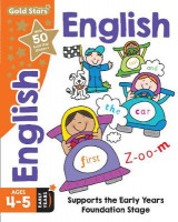 Omslag - Gold Stars English Ages 4-5 Early Years