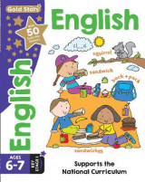 Omslag - Gold Stars English Ages 6-7 Key Stage 1