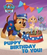 Omslag - Nickelodeon PAW Patrol Puppy Birthday To You