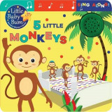 Omslag - Little Baby Bum: 5 Little Monkeys