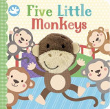 Omslag - Little Learners Five Little Monkeys